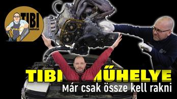 Tibi Műhelye, a Celica-projekt 3. rész: az összerakás és próbaút