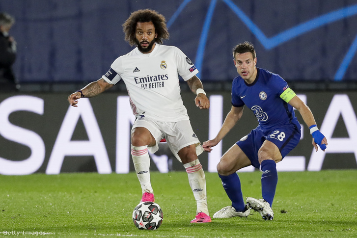 Marcelo a párharc első meccsén
