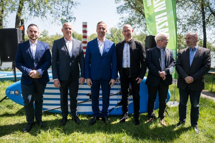 Sipos Dávid, Schmidt Gábor, Dombi Rudolf, Fekete-Szalóky Zoltán, Baráth Gergely és Kücsön Gyula