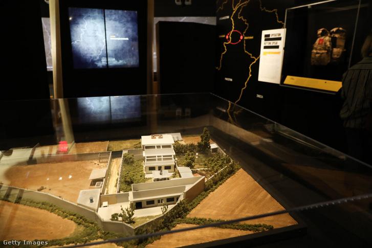 Una maqueta del complejo de Abbottabad en el Museo del 11 de septiembre en Nueva York.