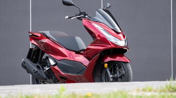 Teszt: Honda PCX 125i – 2021.