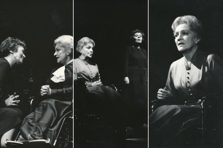 Sulyok Mária és Bulla Elma az 1977-es Pesti Színház-féle Macskajátékból