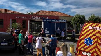 Ámokfutó késelt egy brazíliai óvodában, három kisgyermek meghalt