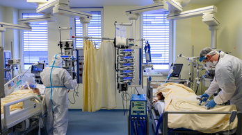 Nőtt a fertőzöttek, csökkent a kórházban ápoltak száma