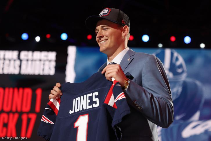 Mac Jones lehet a Patriots jövője