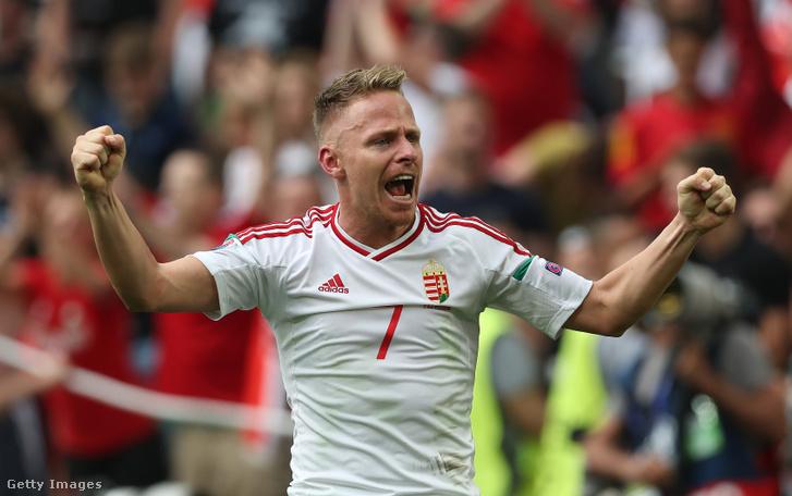 Dzsudzsák Balázs két gólt szerzett a 2016-os Európa-bajnokságon