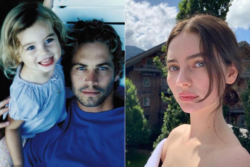 Paul Walker modell lánya dögös fehérneműben pózolt: Meadow fotóján ámulnak a rajongók