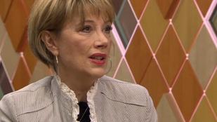 Xantus Barbara tavaly, 52 évesen diplomázott le az SZFE-n