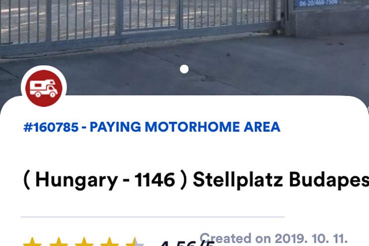 Meglepő módon a Hungária körúton találtam egy leeresztő helyet