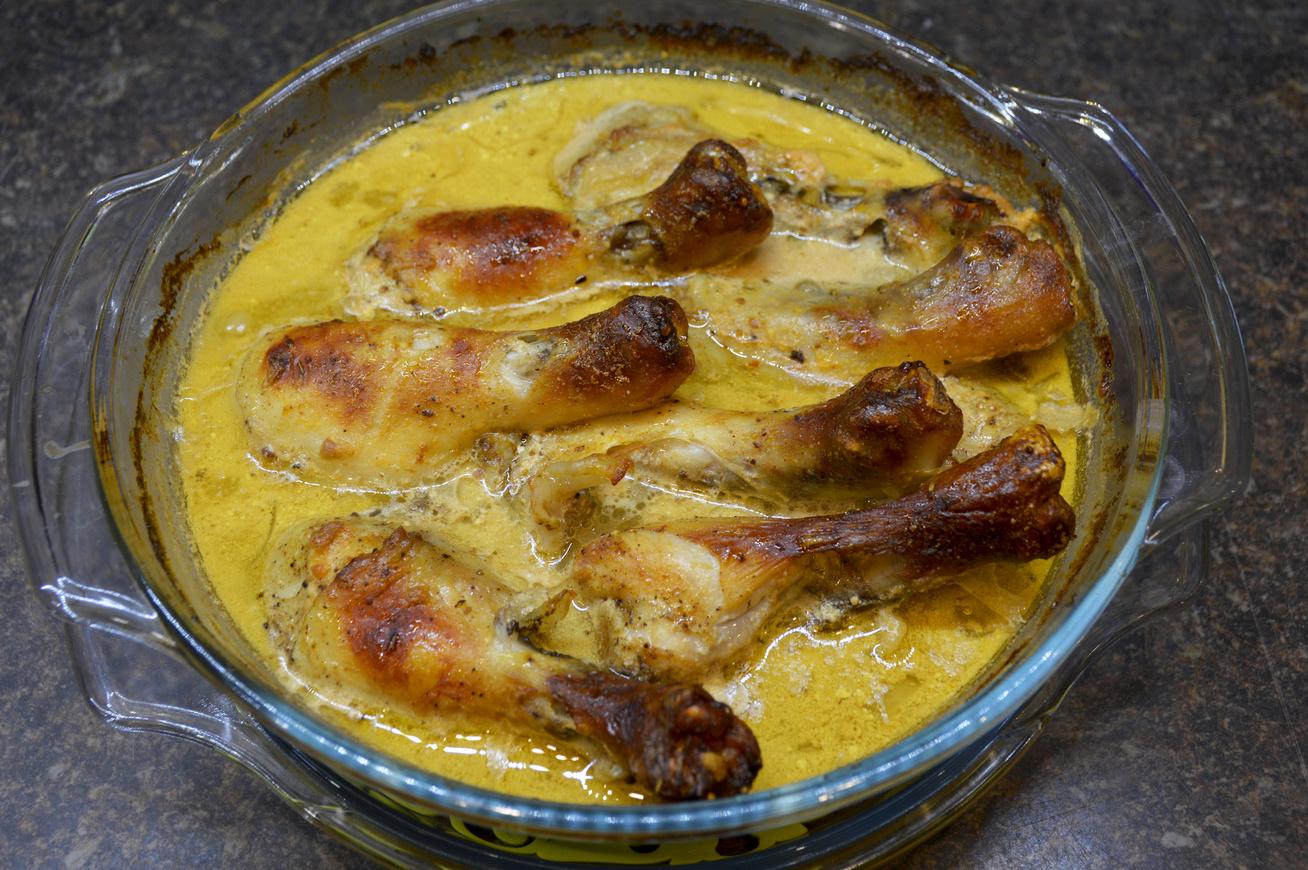 mustaros fokhagymas csirke