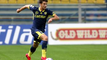 Balogh Botond a Serie B-be is követi a Parmát