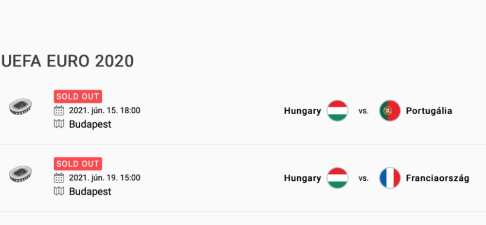 Már nincs jegy a magyar válogatott hazai Eb-meccseire