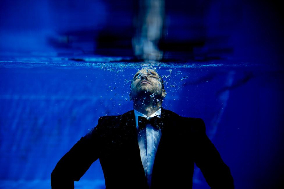 Emberábrázolás (egyedi) második hely Glódi Balázs - Benedek TiborBenedek Tibor háromszoros olimpiai bajnok, Európa- és világbajnok vízilabdázó.