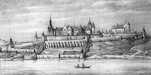 A Budai vár Mátyás király korában