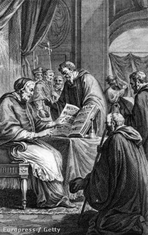 Arezzói Guido és XIX. János pápa