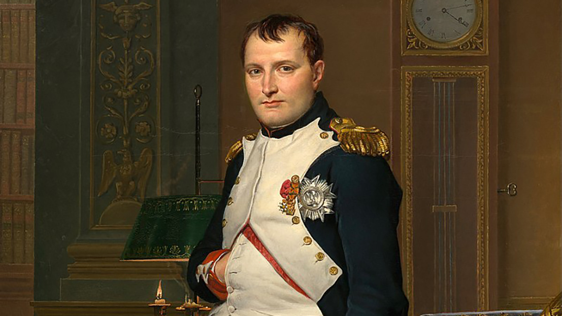 800px-Jacques-Louis David - The Emperor Napoleon in His Study at