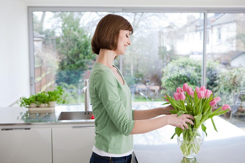 Így marad sokáig életben a vágott virág: dupla annyi ideig lesz friss és üde