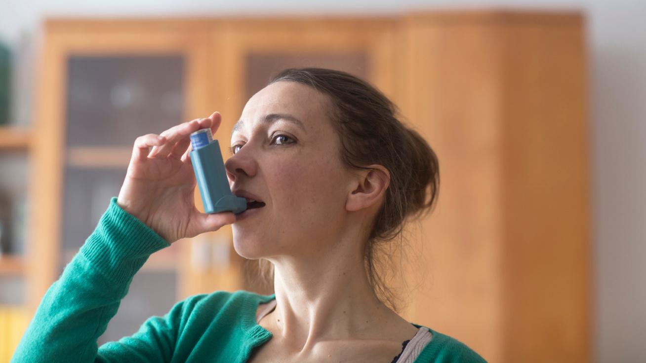 asztma tünet