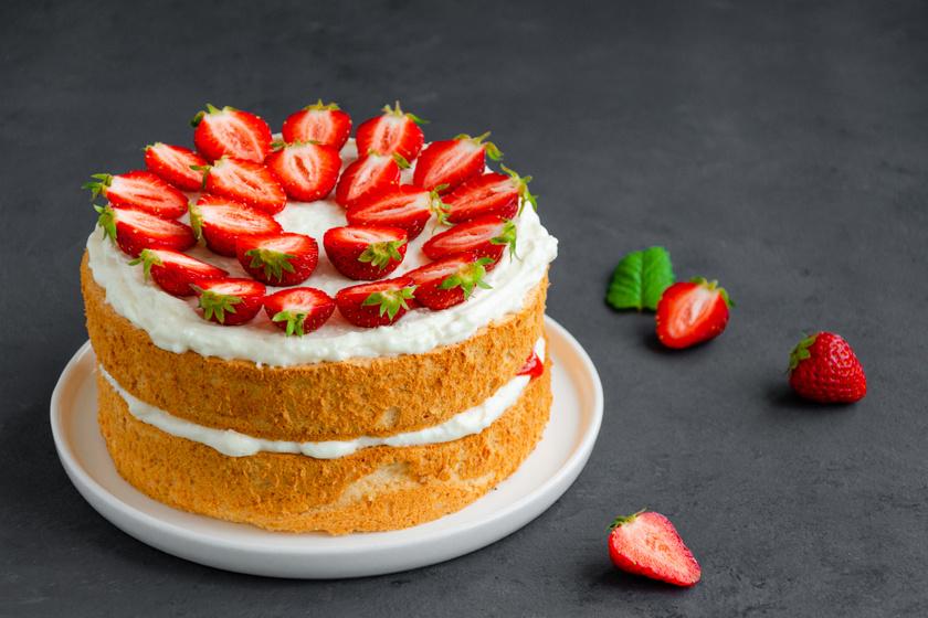 A híres angol Viktória torta receptje: gyorsan megvan, és nagyon finom