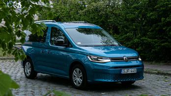 Teszt: Volkswagen Caddy 2.0 TDI - 2021.
