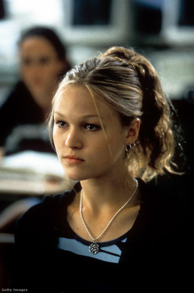 Arról a jelenetről beszélt, amelyben a Stiles játszotta Kat az osztály előtt felolvassa a versét, amelyet a jelenlévő szerelmének (Heath Ledger) írt