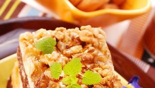 Mogyorós Kinder Bueno desszert – felnőtteknek egy kevés krémlikőr is kerülhet bele