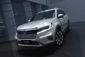 Új, hétüléses modellt mutatott a Honda