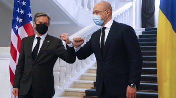 Ukrajnába látogatott az amerikai külügyminiszter