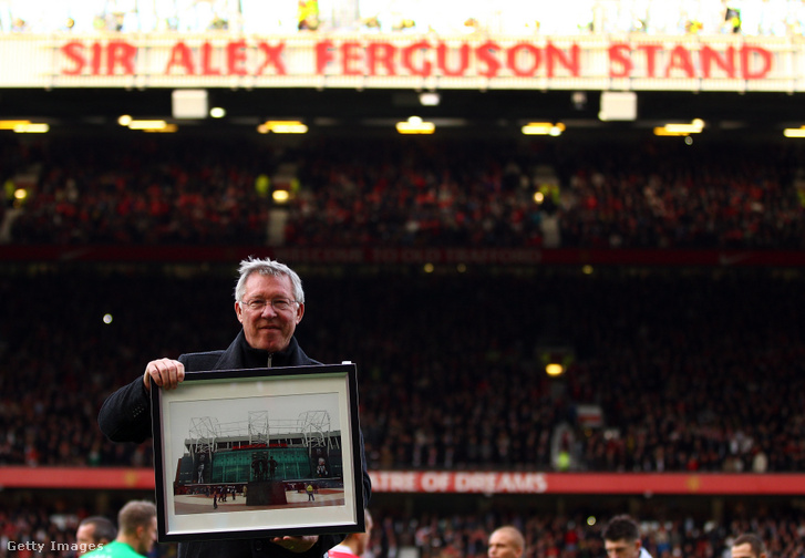 Lelátót is neveztek el róla az Old Traffordon