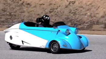 Újjáéled a Messerschmitt Kabinenroller