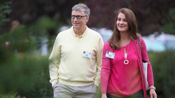 Bill Gates egy csapásra dollármilliárdossá tette feleségét