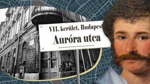 Az Auróra utca nevének semmi köze az orosz cirkálóhoz, Kisfaludy Károlyhoz annál több