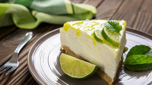 Sütés nélküli lime-citrom torta – remek tavaszi édesség, ami gyorsan elkészül