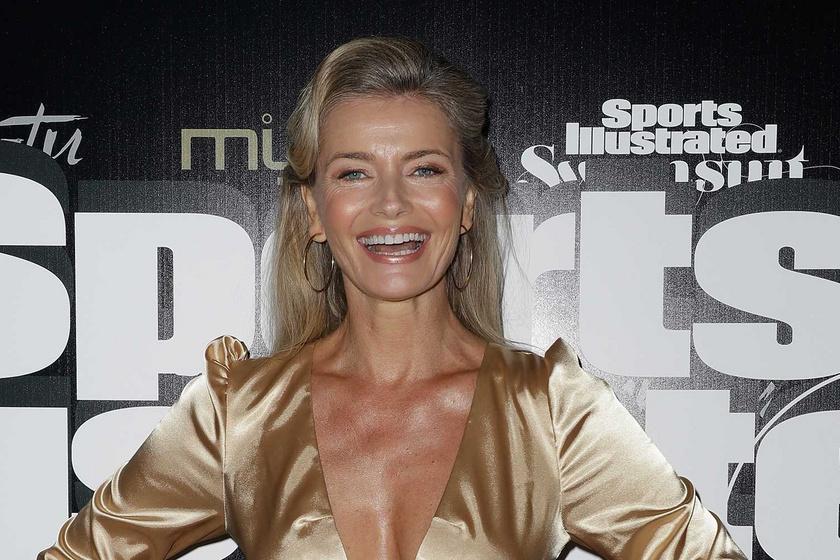 Az 56 éves modell meztelen testét csak egy áttetsző body takarta: Paulina Porizkova nem hagyta, hogy retusálják a képét