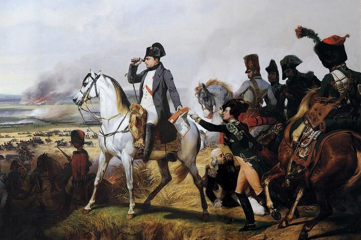 Napóleon a wagrami csatában