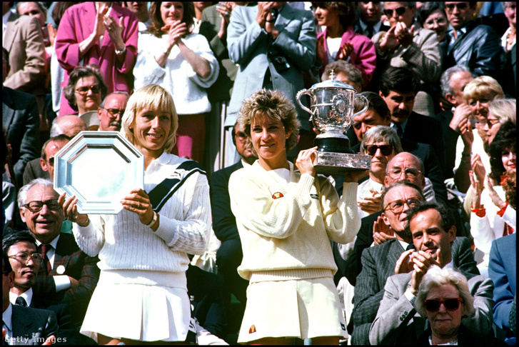 Elképesztő csatákat vívtak Martina Navratilovával, utóbbi 43–37-re nyerte kettejük különversenyét