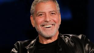 George Clooney Brad Pitt-rajongóként csinál hülyét magából, hogy pénzt gyűjtsön