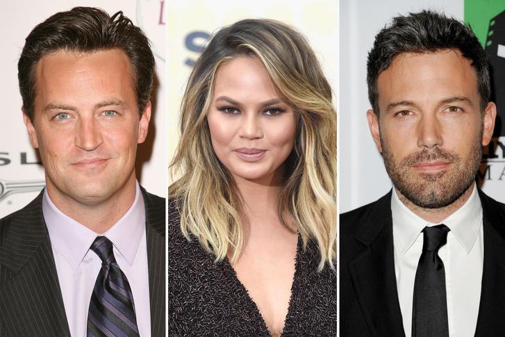 Matthew Perry, Chrissy Teigen és Ben Affleck