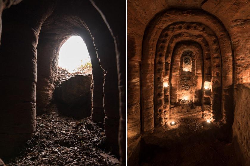 Nyúlüregnek hitte a gazda, föld alatti, titkos kápolnába vezetett a járat: a templomos lovagok követőié lehetett