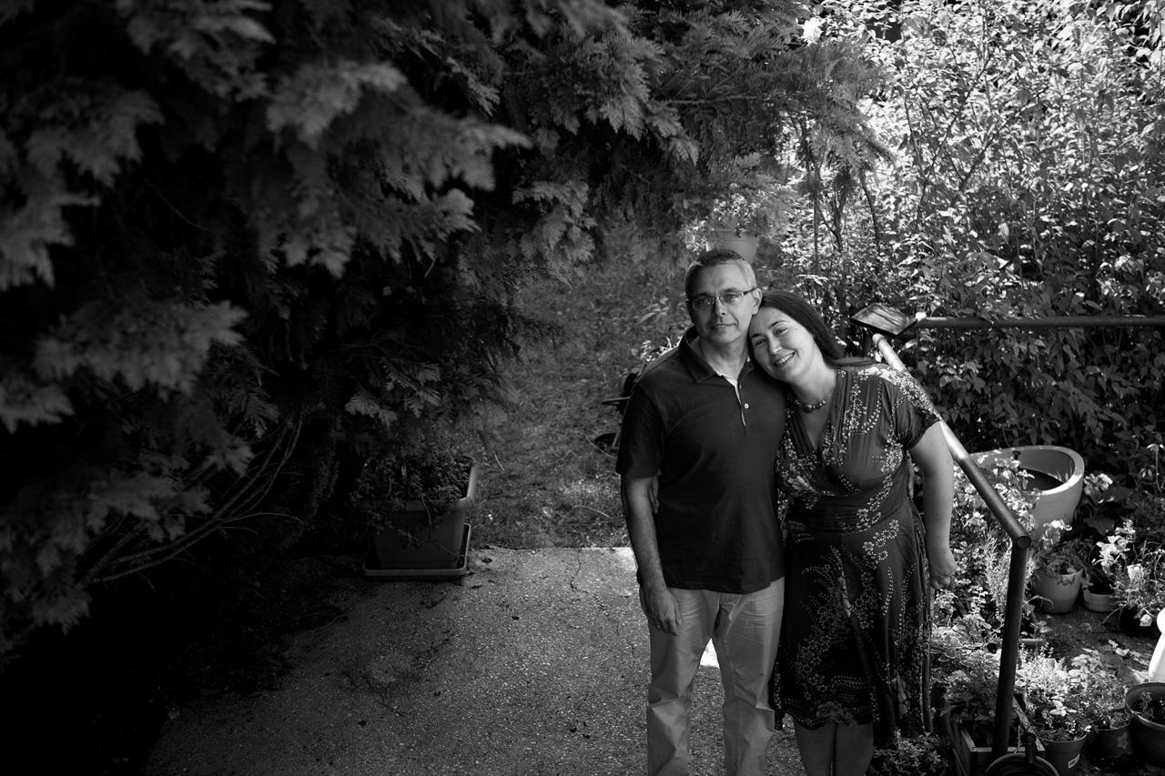 Dragomán György és felesége, Szabó T. Anna