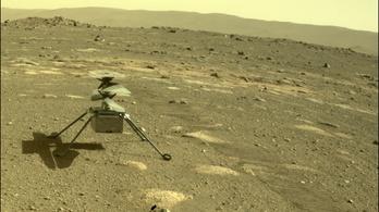 Ilyen a NASA marsi helikopterének hangja