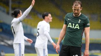 Leedsi vereséggel távolodik a BL-indulás a Tottenhamtől