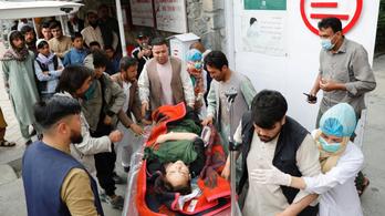 Iskola mellett robbantottak Kabulban, legkevesebb 40 ember meghalt