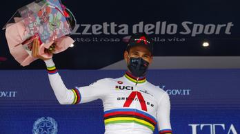 Elkezdődött a Giro, Valter a 95., Dina a 151.