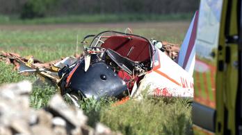 Lezuhant egy kisrepülőgép Törökszentmiklósnál, egy férfi életveszélyesen megsérült