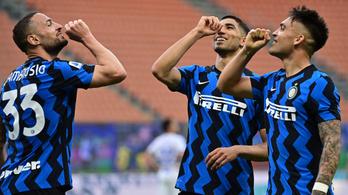Öt gólt vágva állított fel klubrekordot az Inter
