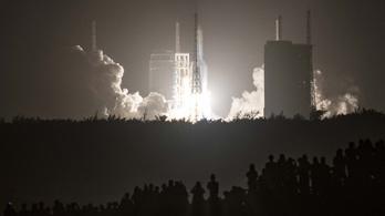 Visszaszámlálás: itt nézheti élőben, hol fog becsapódni a kínai rakéta