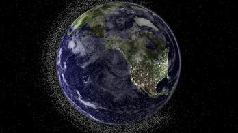 Időzített bombaként ketyeg a rengeteg űrszemét