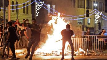 Mintegy kilencven palesztin sérült meg a jeruzsálemi összetűzésekben