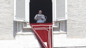 A jeruzsálemi erőszak befejezését sürgeti Ferenc pápa